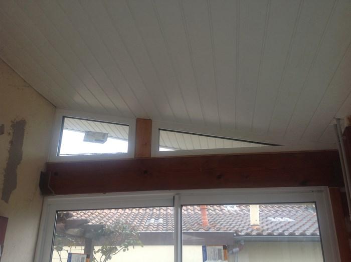 Une fenêtre aluminium de forme trapèze : c'est possible !