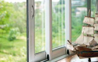Fenêtre aluminium coulissante sur mesure
