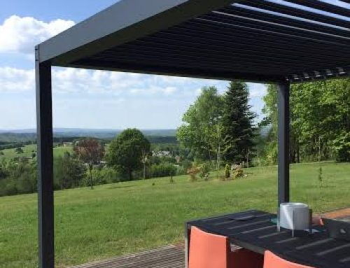 Le kit pergola bioclimatique