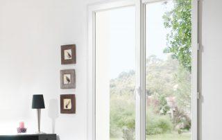 fenêtre PVC double vitrage