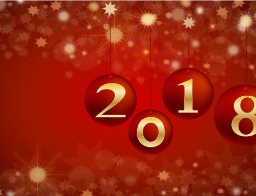 Orion Menuiseries vous souhaite une excellente année 2018 !