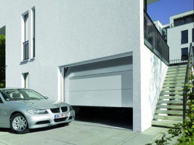 Acheter une porte de garage sectionnelle gris 7016