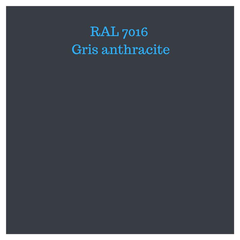 RAL 7016 : une couleur moderne !