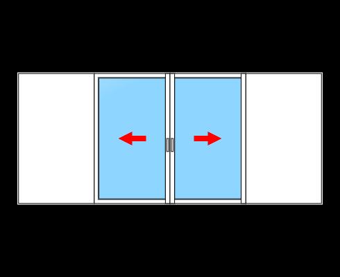 fenêtre alu à galandage