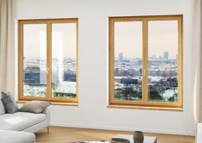 fenêtre en bois isolante