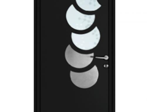 La porte d'entrée aluminium Orion Menuiseries