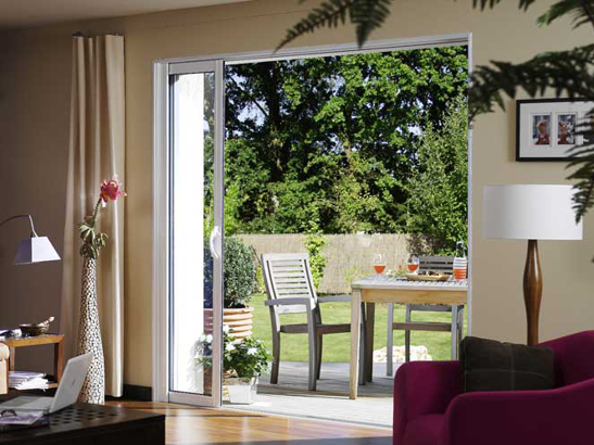 baie vitrée panoramique