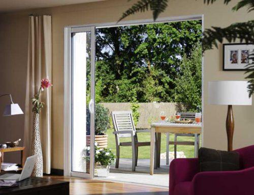 La baie vitrée panoramique