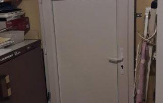 portes de service porte de service Orion Menuiseries