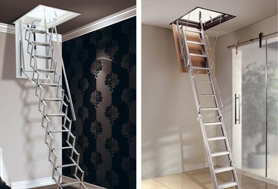 L'escalier escamotable : un équipement pour accéder au grenier