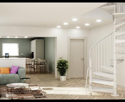 Quel escalier pour un accès réduit ?