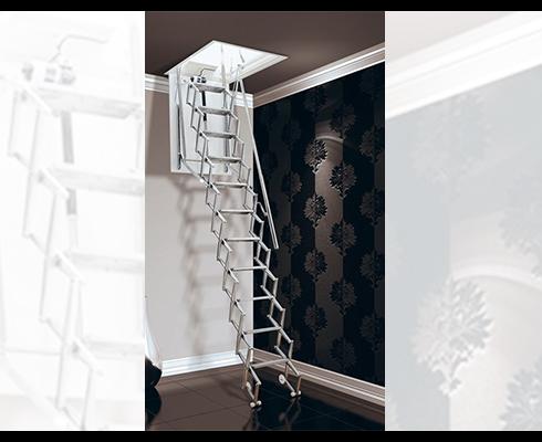 Connaissez-vous l'escalier escamotable ?