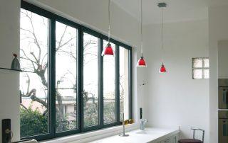 fenêtre aluminium à ouvrant caché