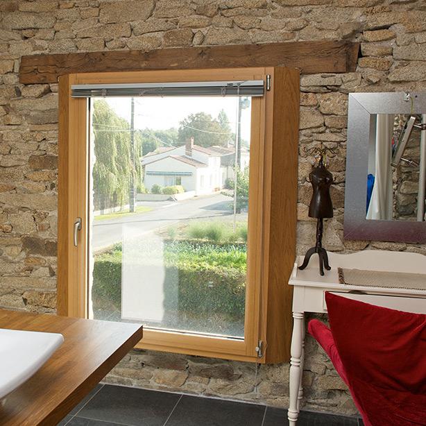 La fenêtre bois Orion Menuiseries