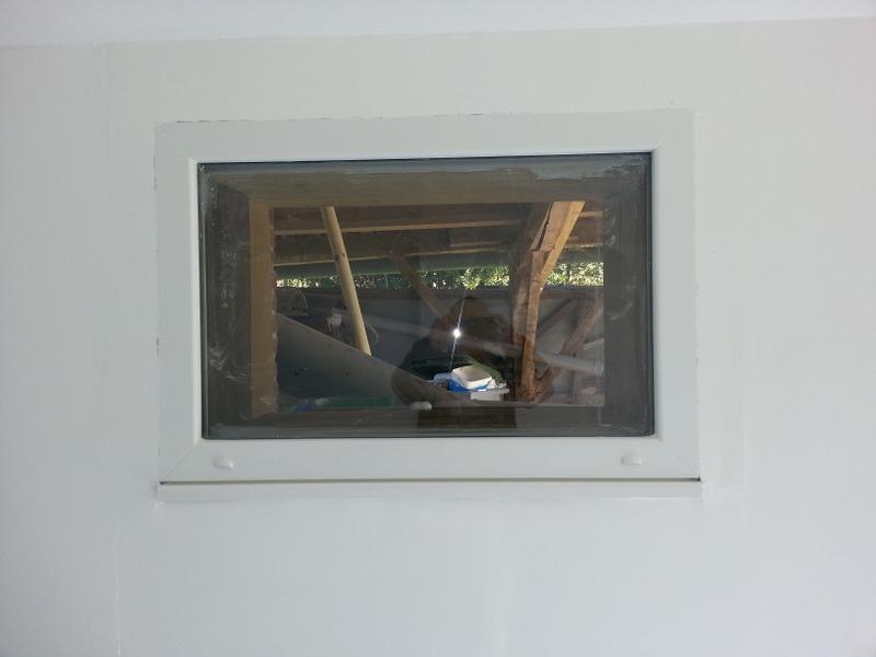 La fenêtre PVC fixe