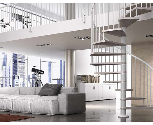 3 avantages de l'escalier à colimaçon