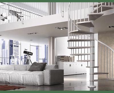 Comment mettre en valeur un escalier à colimaçon