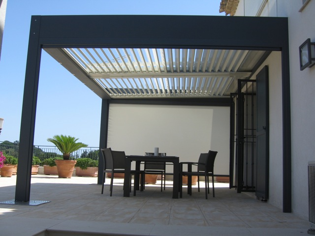 Devis pergola bioclimatique Orion Menuiseries