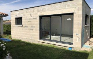devis baie vitrée aluminium
