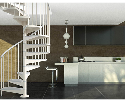 Le point sur l'escalier hélicoïdal métallique