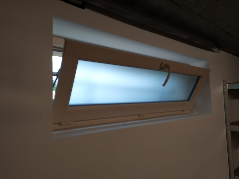 fenêtre à soufflet