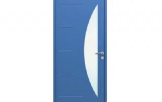 porte d'entrée en acier Orion Menuiseries
