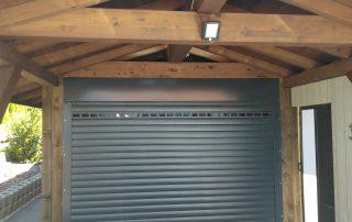 porte de garage enroulable sur mesure