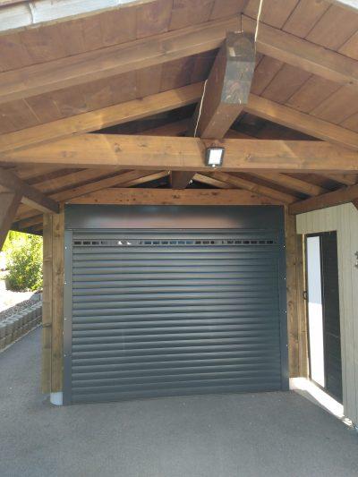 différents types de portes de garage