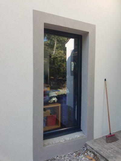 porte-fenêtre aluminium