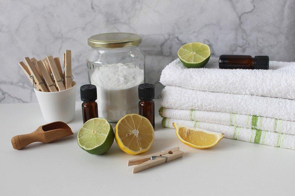 4 ingrédients pour l'entretien naturel de votre maison